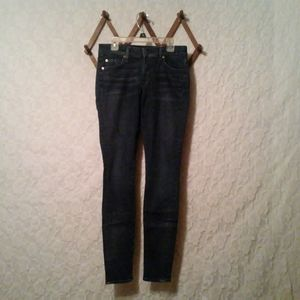 7FAM The Skinny Dark Jeans Women's Sz 28